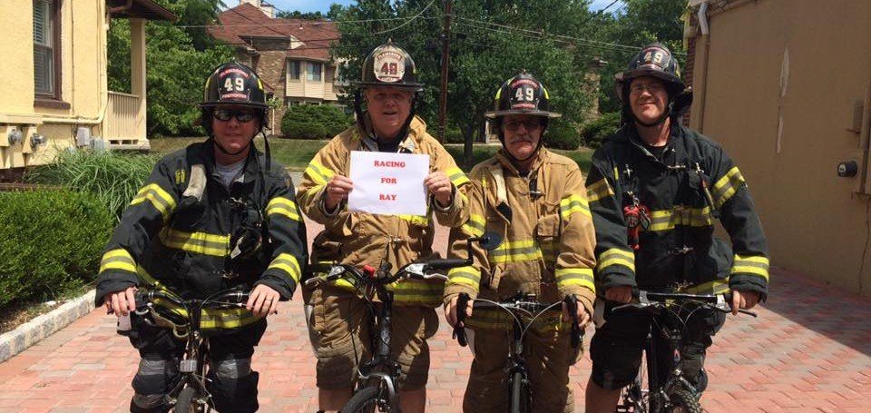 NJ Firefighter Bike Race and Results