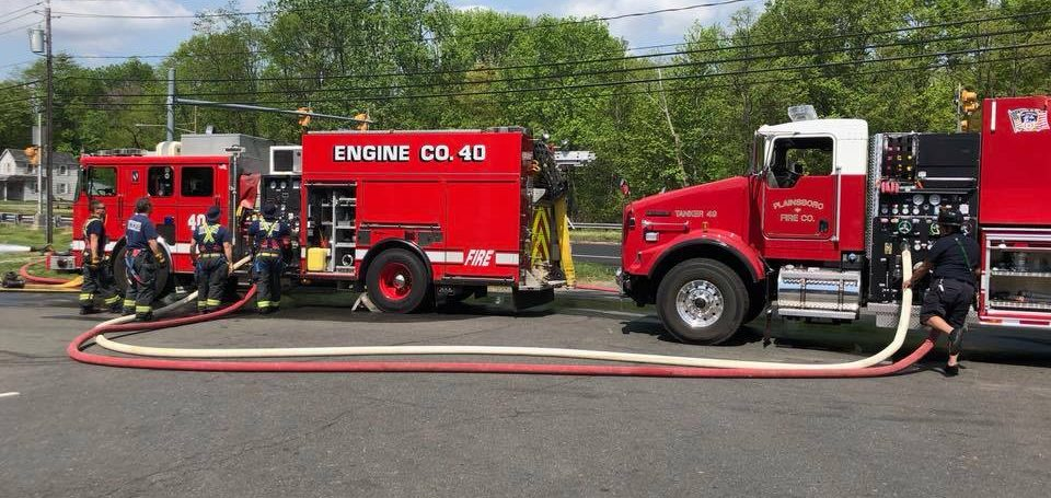 Tanker Drill With Sta. 40 Robbinsville