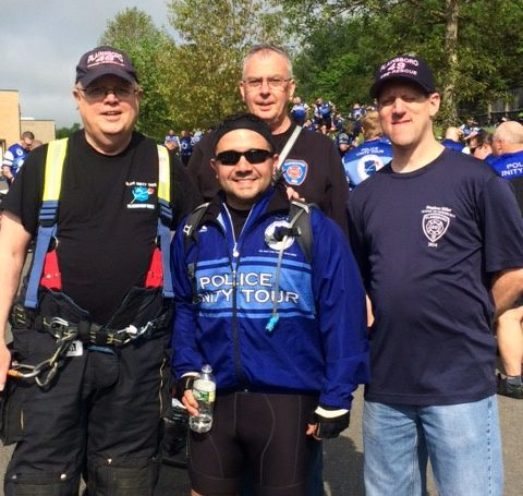 Supporting Police Unity Tour
