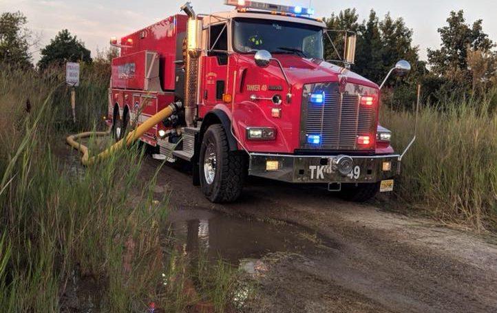Tanker 49 To Edison For 3rd Alarm Brush Fire
